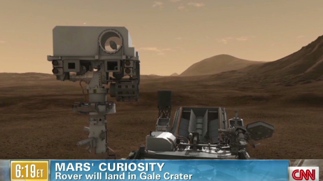 Rover on a mission to Mars
