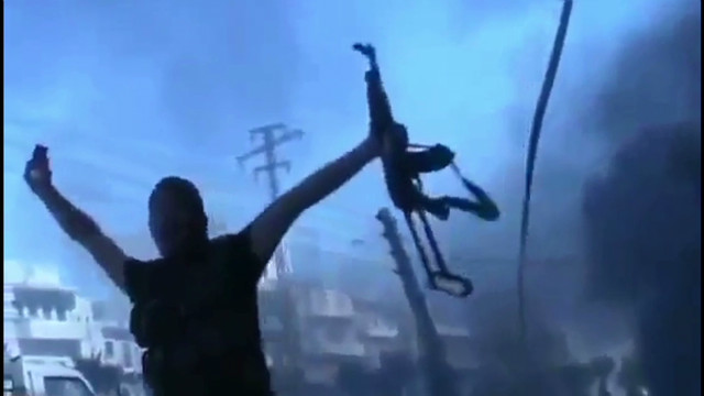 Syria rebels capture regime's weapons