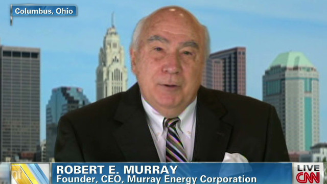 Coal company CEO discusses regulations