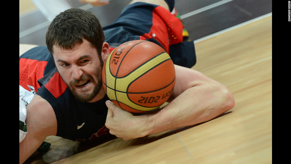 "Little-known fact: U.S. basketballer Kevin Love's favorite movie is ""Cast Away."""