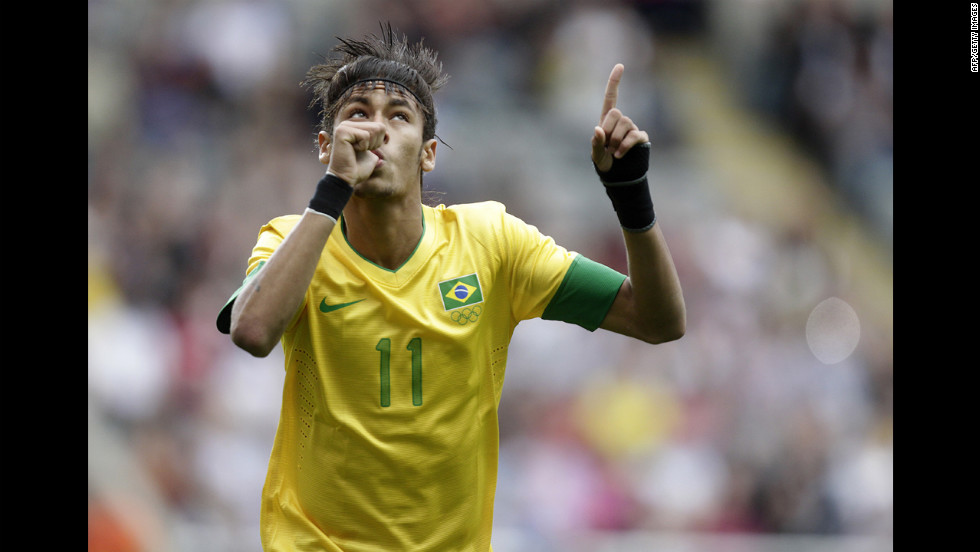 Brazil's Neymar has yet to let go of his childhood neuroses.