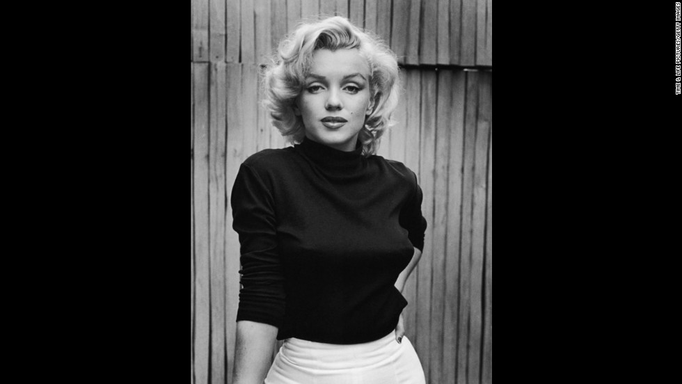 """Marilyn Monroe at home in Hollywood, 1953. See more from this series on <a href=""""http://life.time.com/icons/life-at-home-with-marilyn-1953"""" target=""""_blank"""">LIFE.com</a>."""