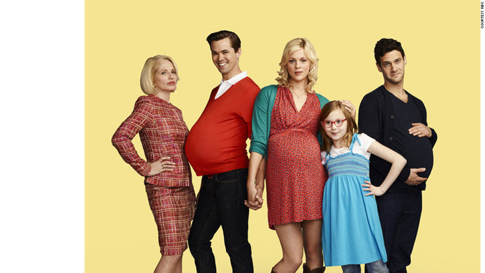 "NBC's ""The New Normal"" features a gay couple who enlist a single mom in their quest to conceive a baby."