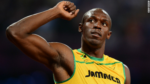 Watch crowds react to Usain Bolt's win