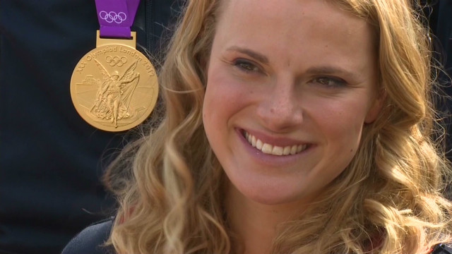 Olympic Gold 1st, next meet Prince Harry