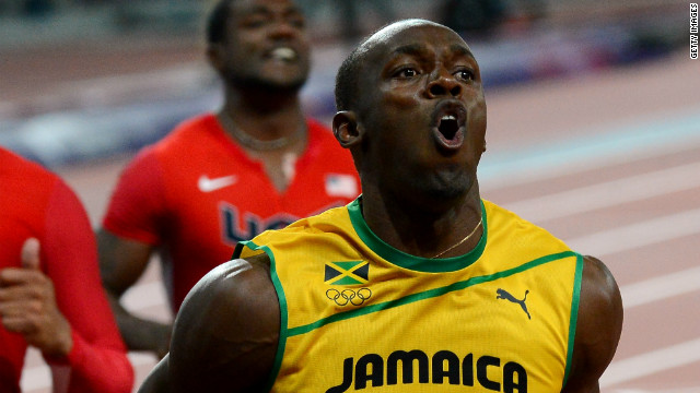 Usain Bolt takes Olympic gold in 100m