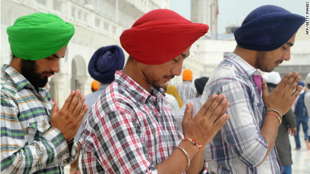 Sikhs in India see teachable moment