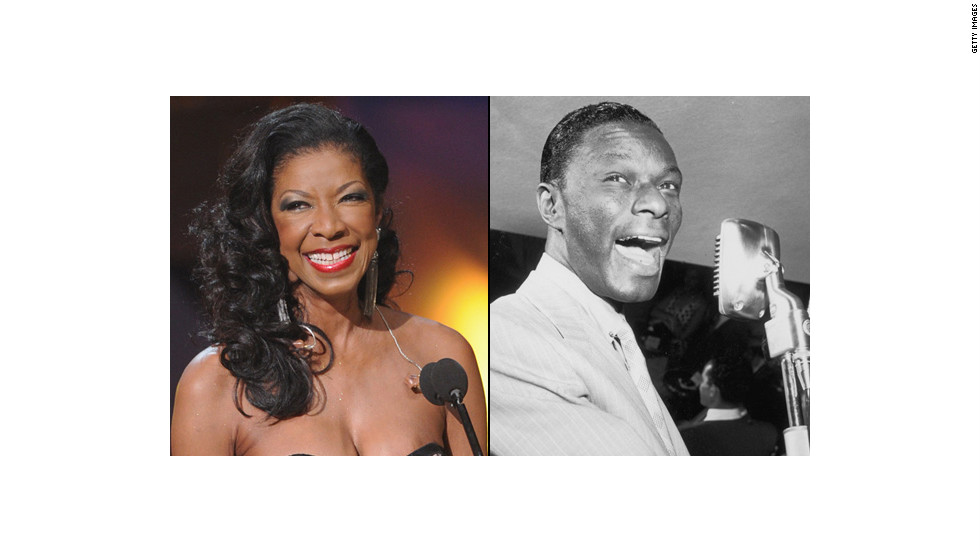 "Singer-songwriter Natalie Cole released several duets with her father, jazz legend Nat King Cole. She cleaned up at the Grammy Awards in 1992 thanks to her version of ""Unforgettable"" -- the song her father popularized in the '50s."