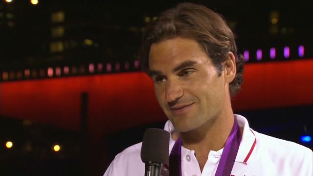 Roger Federer:  'I'm very proud'