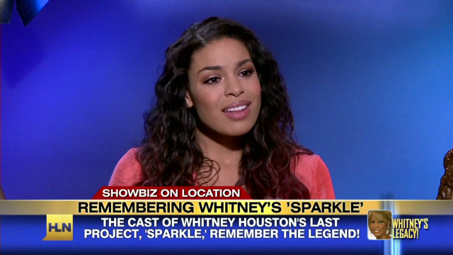 'Sparkle' cast remember Whitney Houston