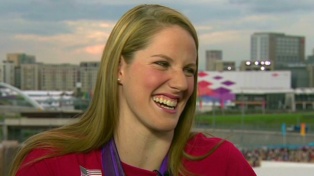 Missy Franklin: 'I'm on cloud 687'