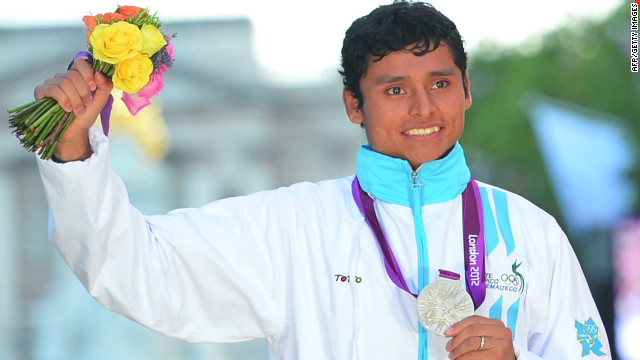 Guatemala's first-ever Games medal