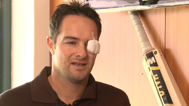 Mark Boucher on eye injury