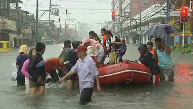 Flood relief may be near for Philippines