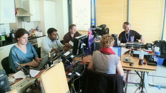 Behind the scenes of CNN's Olympic bureau