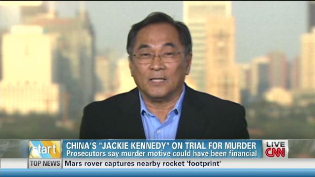 Verdict awaits in China murder trial