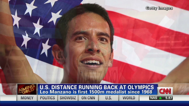 U.S. distance running back at Games