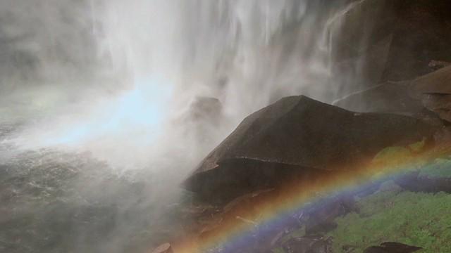 Yosemite's Mist Trail experience