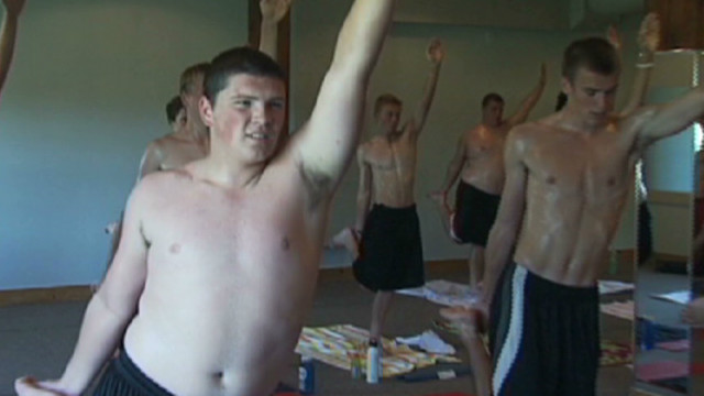 Football champs' secret weapon: Yoga