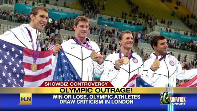 America's Olympic  heroes get slammed!