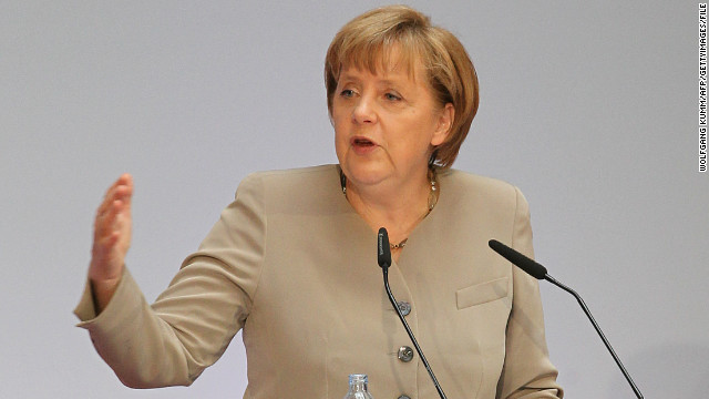 German Chancellor Angela Merkel's coalition government suffered a blow in weekend elections.