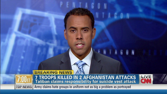 7 Troops killed in 2 Afghanistan attacks
