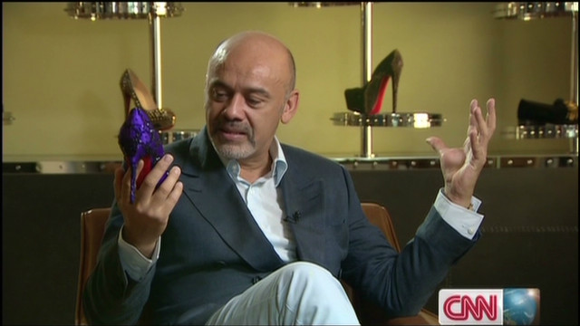 Louboutin's red sole story