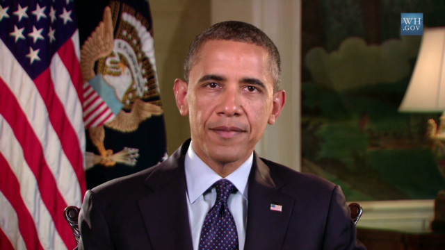 Obama on nation's drought