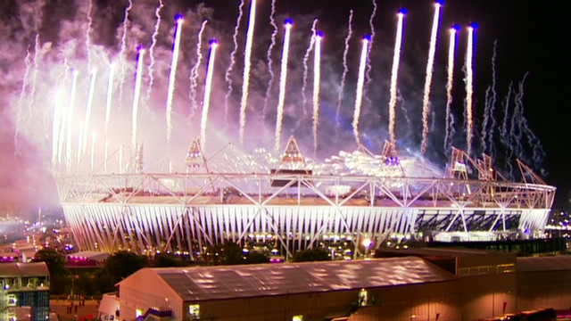 Games close with fireworks display