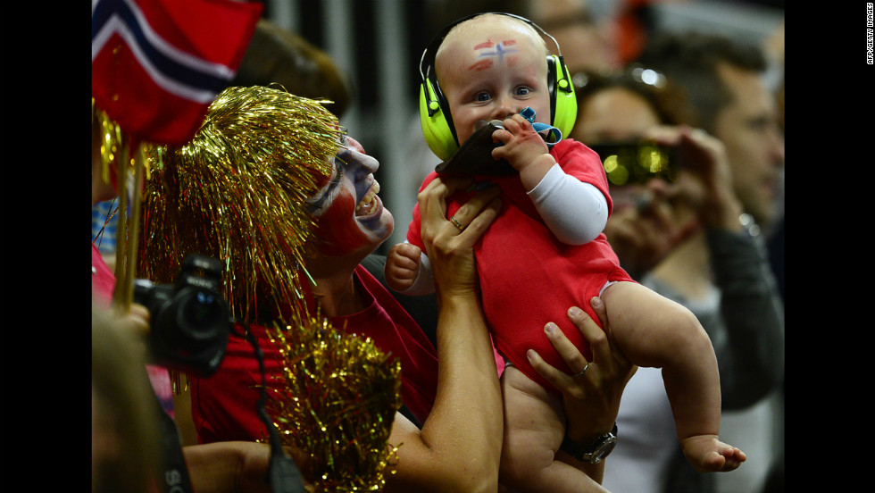 Glam-rock fans start very young.