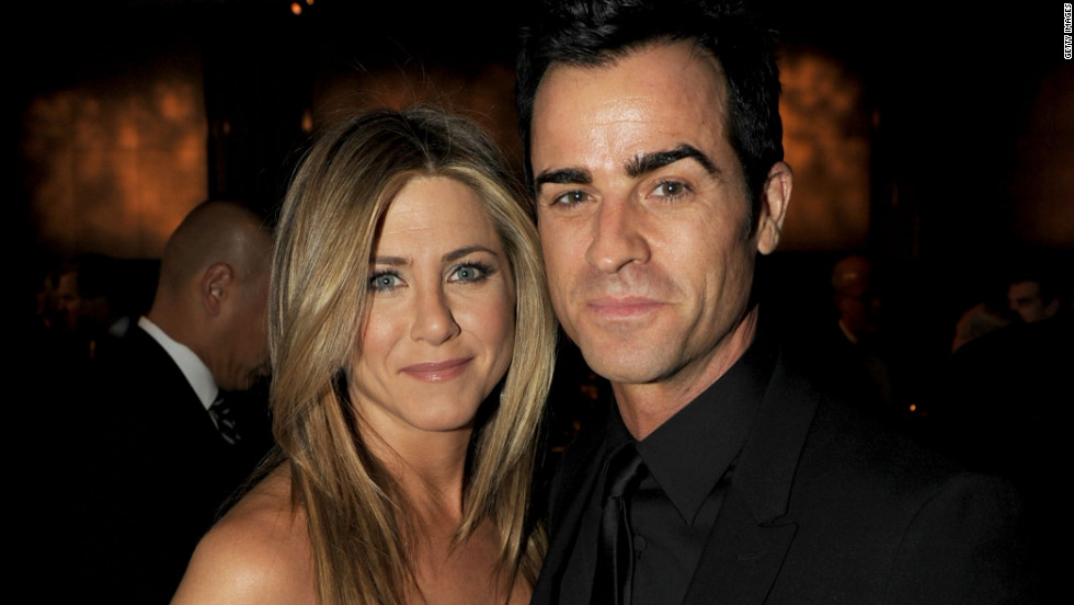 "Jennifer Aniston hasn't always been lucky in love, but she may have finally found her prince in<a href=""http://www.cnn.com/2012/08/12/showbiz/aniston-engaged/index.html?hpt=en_c1"" target=""_blank""> fiancé</a> Justin Theroux. Here's a look back at some of Jen's men:"