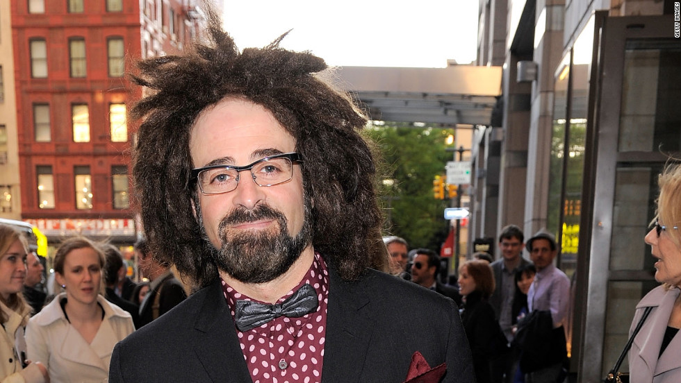 "Counting Crows frontman Adam Duritz and Aniston dated in 1995. ""We never even slept together,"" Duritz once said of their romance, via <a href=""http://www.usmagazine.com/celebrity-news/pictures/can-you-believe-they-dated-20091812/5867"" target=""_blank"">US Weekly.</a>"