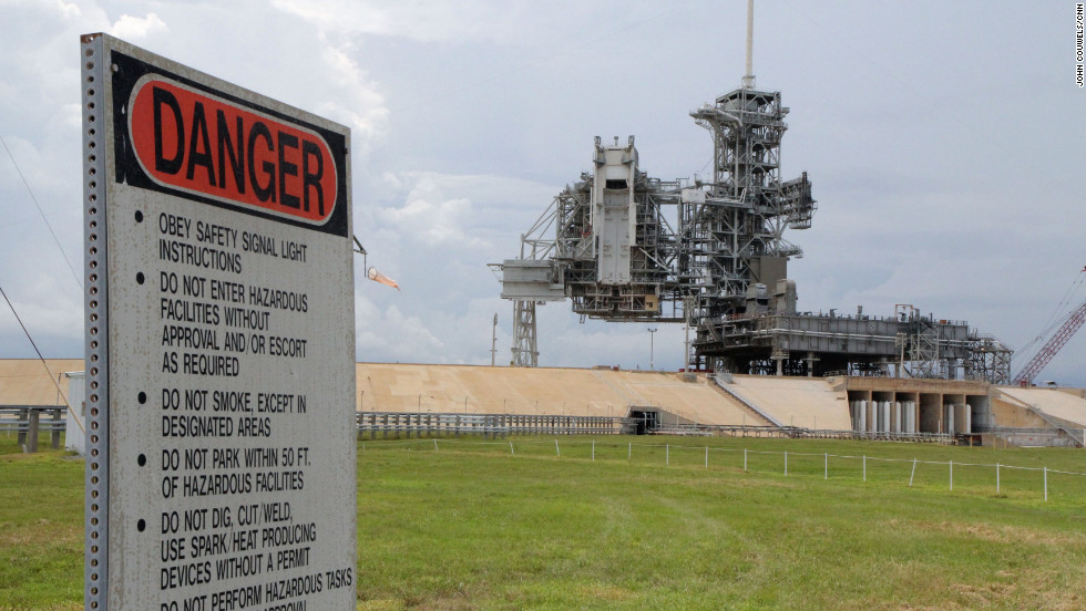 For the first time, visitors can get a closer look at launchpads at Kennedy Space Center thanks to special tours marking the center's 50th anniversary. The launchpad tours started in July and are likely to be offered only through the end of the year.