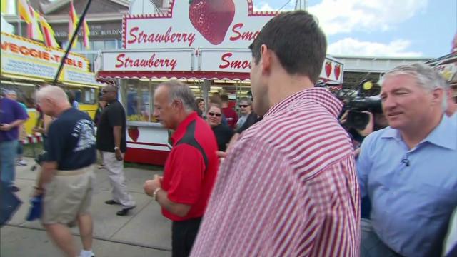 Paul Ryan heckled at Iowa State Fair