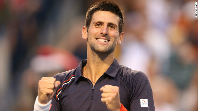 Serbia's Novak Djokovic lost his place at the top of the world rankings to Roger Federer last month.