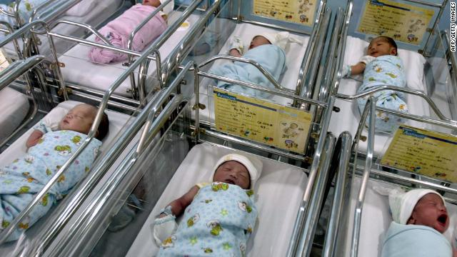 Record number of babies born via IVF