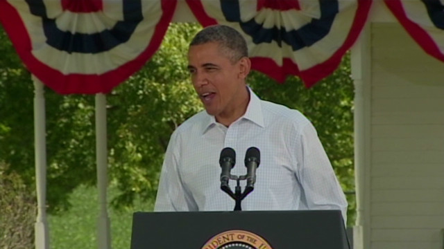 Obama jokes about Romney's dog