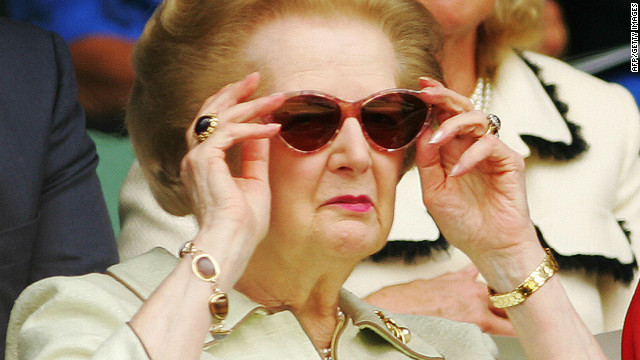 Margaret Thatcher (shown in an undated file photo) is expected to be kept in the hospital overnight.