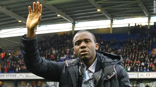 Muamba talks to CNN about life after his collapse