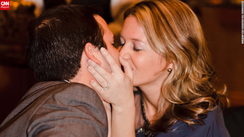 "After having begged her boyfriend to come along on an overnight trip to New York City, Stephanie Hayden says his proposal at the Waldorf Astoria in New York was a complete shock. ""My fiancé does not like attention, so a public engagement never crossed my mind,"" Hayden told CNN. <a href=""http://ireport.cnn.com/docs/DOC-826919"" target=""_blank"">See their video on Stephanie Hayden's iReport</a>."