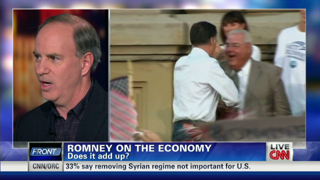 What is Romney's economic plan?