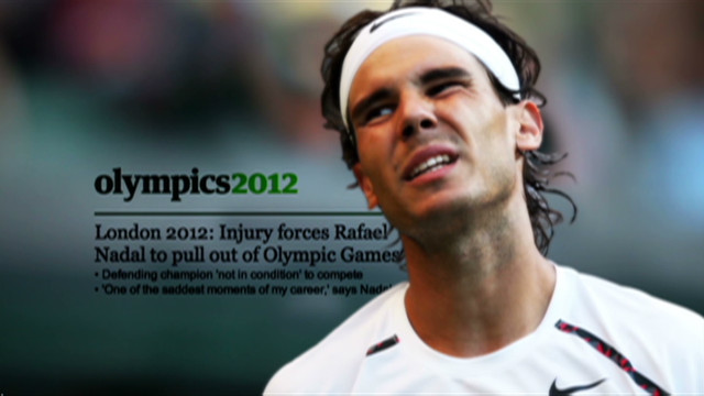 Rafael Nadal's injury heartache