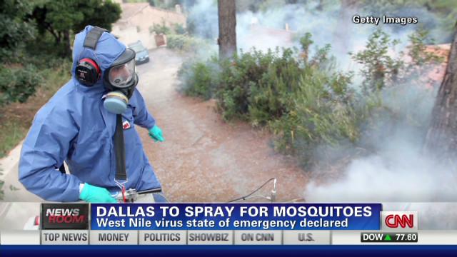 Battling surge in West Nile virus cases
