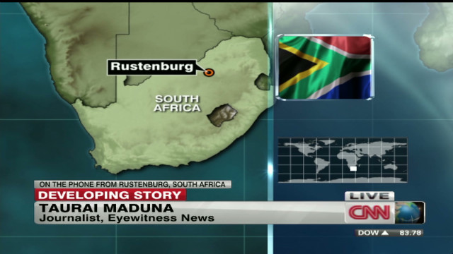 Deadly South African mine clashes