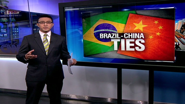 Relations grow between China, Brazil