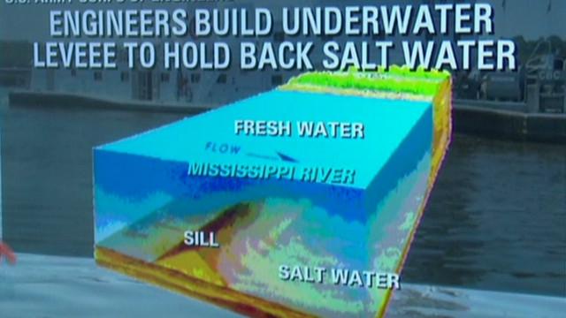 Louisiana drinking water threatened