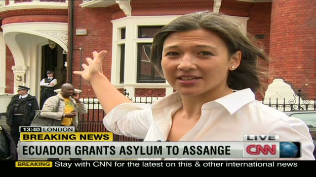 Assange given diplomatic asylum