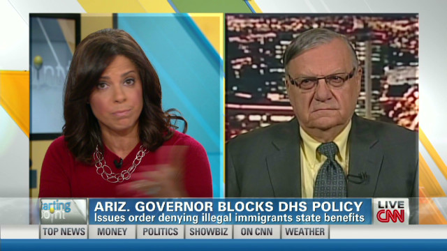 Arpaio on Gov. Brewer's executive order