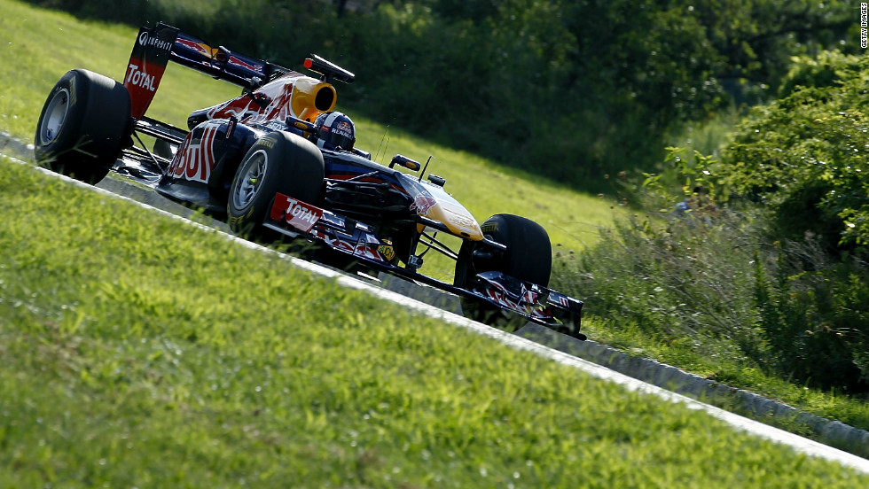 Former F1 driver David Coulthard was behind the wheel for the 2012 visit, causing a stir as he sped through Liberty State Park.
