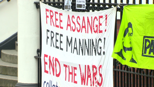 Is is possible for Assange to escape?